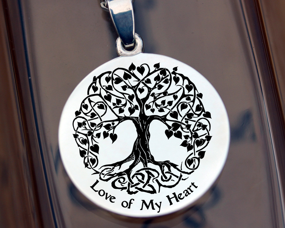 Celtic Love Tree - available for re-engraving.