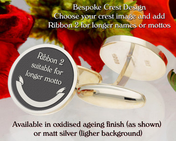 Ribbon 2 - add element to enhance crest image.