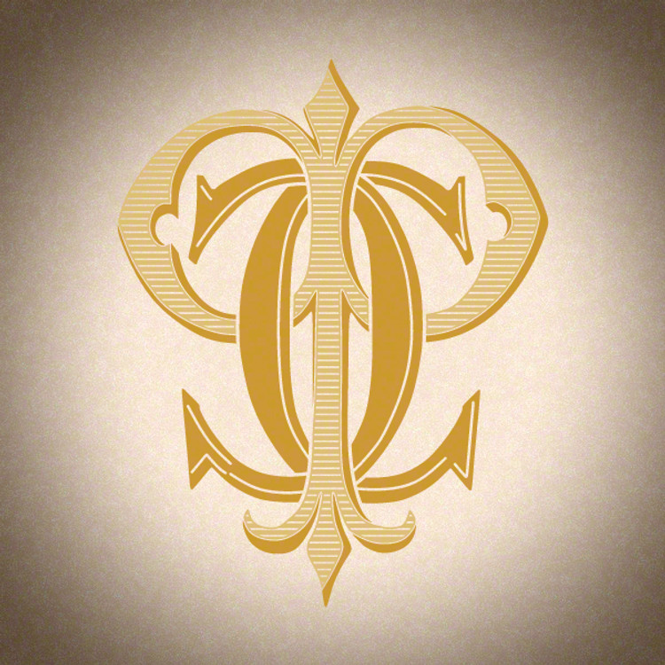 Victorian Monogram CP PC D2 - hand drawn design, graphic design only - download