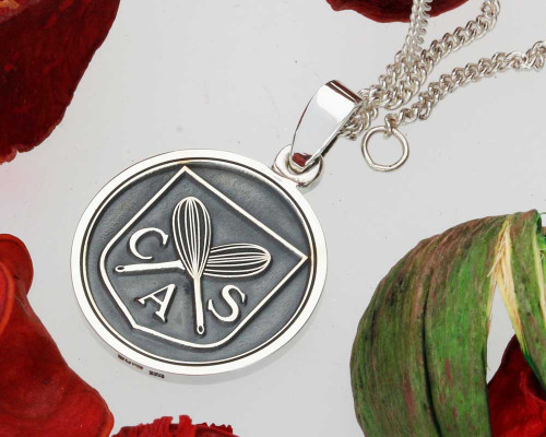 Custom designed sterling silver pendants created for you aloadofball Image collections