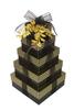 Elegant Stripes 5 Tier Tower - Set of 5 Empty Boxes (Case Pack 8)