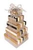 Glistening Stripes 5 Tier Tower