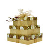 Elegantly Ornamented 3 Tier Rectangle boxes