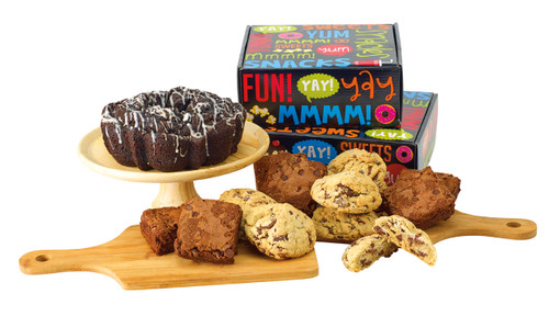 Snack Attack Plus - Fresh Baked Coffee Cake, Brownies and Cookies