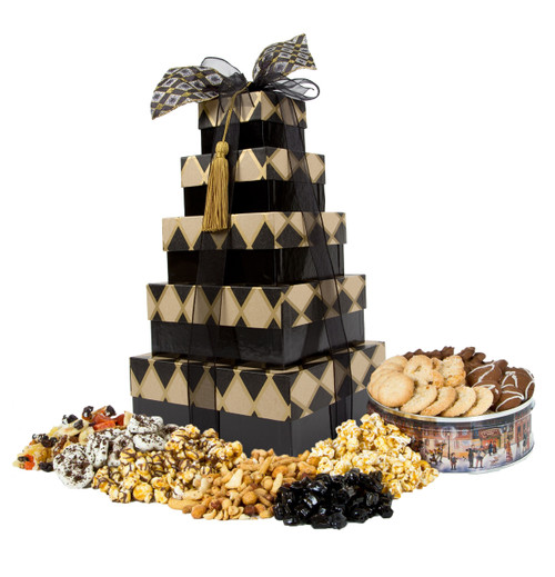 Black Diamond 5 Tier Tower with Treats