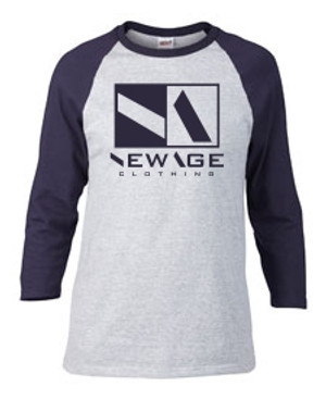 New Age Clothing | Premier HGY-NVY-NVY Raglan