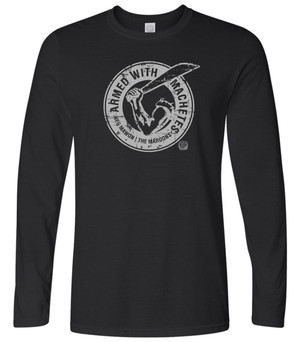 Hispaniola Port & Trade Company AWM Since 1804 Long Sleeve Crew Black