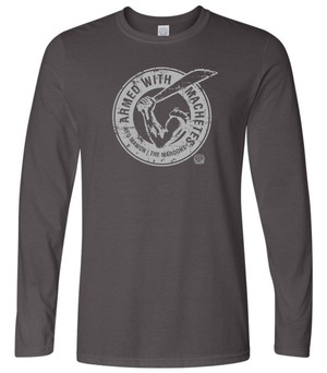 Hispaniola Port & Trade Company AWM Since 1804 Long Sleeve Crew Charcoal