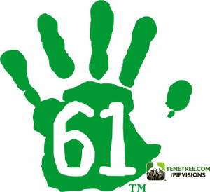Pipvisions - 561 Stickers Monster Green