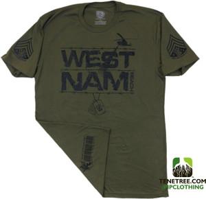 """Pipclothing - Rep Ur Hood """"West Nam"""" Army Premium Crew"""