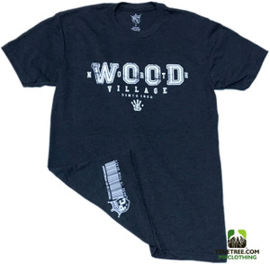 "PC - Rep Ur Hood ""NorthWOOD"" Heather Navy  Premium Crew"