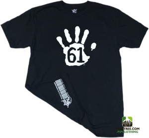 "Pipclothing - Rep Ur Hood ""High61"" Black Crew"