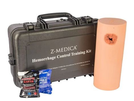 Z Medica Hemorrhage Control Training Kit With Quikclot