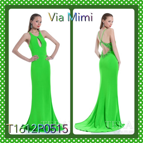 Terani 1612P0515  BEFORE $399.00         NOW $219.00   GRENN SIZE 2,4  FUSCHIA SIZE 4      FOR PRICE OR MORE IMFORMATION PLEASE GIVE US A CALL  VIA MIMI FASHION  1333 S. SANTEE ST   LA,CA.90015  TEL: (213)748-MIMI (6464)  FAX: (213)749-MIMI (6464)  E-Mail: mimi@viamimifashion.com  https://www.facebook.com/viamimifashion  https://www.instagram.com/viamimifashion  https://twitter.com/viamimifashion