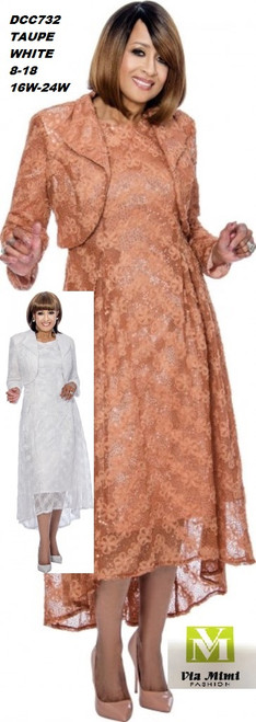DORINDA CLARK  STYLE #DCC732 - 2 PC DRESS/JACKET  COLOR: TAUPE, WHITE  SIZE: 8-18  _______ 16W-26W  FOR MORE IMFORMATION AND PRICE PLEASE GIVE US A CALL   WE BEAT  ALL PRICES !!!!  VIA MIMI FASHION  1333 S. SANTEE ST.  LA,CA.90015  TEL: (213)748-MIMI (6464)  FAX: (213)749-MIMI (6464)  E-Mail: mimi@viamimifashion.com  http://viamimifashion.com  https://www.facebook.com/viamimifashion    https://www.instagram.com/viamimifashion  https://twitter.com/viamimifashion
