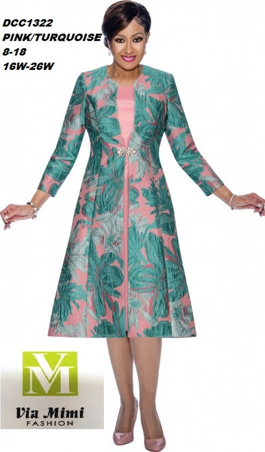 DORINDA CLARK  STYLE #DCC1322 - 2 PC DRESS/JACKET  COLOR: PINK/TURQUOISE  SIZE: 8-18  _______ 16W-26W  FOR MORE IMFORMATION AND PRICE PLEASE GIVE US A CALL   WE BEAT  ALL PRICES !!!!  VIA MIMI FASHION  1333 S. SANTEE ST.  LA,CA.90015  TEL: (213)748-MIMI (6464)  FAX: (213)749-MIMI (6464)  E-Mail: mimi@viamimifashion.com  http://viamimifashion.com  https://www.facebook.com/viamimifashion    https://www.instagram.com/viamimifashion  https://twitter.com/viamimifashion