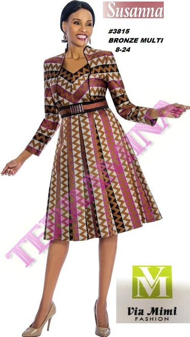 SUSANA STYLE #3815 - 1 PC DRESS  COLOR: BRONZE MULTI, NAVY  SIZE: 8-24  FOR MORE IMFORMATION AND PRICE PLEASE GIVE US A CALL   WE BEAT  ALL PRICES !!!!  VIA MIMI FASHION  1333 S. SANTEE ST.  LA,CA.90015  TEL: (213)748-MIMI (6464)  FAX: (213)749-MIMI (6464)  E-Mail: mimi@viamimifashion.com  http://viamimifashion.com  https://www.facebook.com/viamimifashion    https://www.instagram.com/viamimifashion  https://twitter.com/viamimifashion