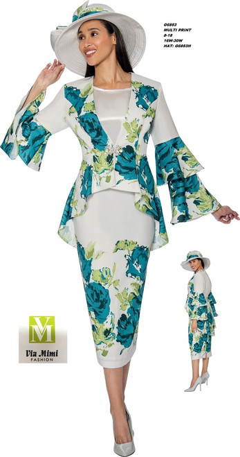 GMI #G6853__   3 PC SET  COLOR: MULTI PRINT  SIZE: 8-18 __ 16W-30W  HAT: G6853H  FOR MORE IMFORMATION AND PRICE PLEASE GIVE US A CALL   WE BEAT  ALL PRICES !!!!  VIA MIMI FASHION  1333 S. SANTEE ST.  LA,CA.90015  TEL: (213)748-MIMI (6464)  FAX: (213)749-MIMI (6464)  E-Mail: mimi@viamimifashion.com  http://viamimifashion.com  https://www.facebook.com/viamimifashion    https://www.instagram.com/viamimifashion  https://twitter.com/viamimifashion