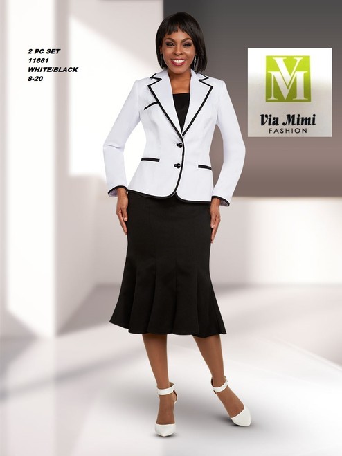 EXECUTIVE #11661___2 PC SET  COLOR: WHITE/BLACK  SIZE: 8-20  FOR MORE IMFORMATION AND PRICE PLEASE GIVE US A CALL   WE BEAT  ALL PRICES !!!!  VIA MIMI FASHION  1333 S. SANTEE ST.  LA,CA.90015  TEL: (213)748-MIMI (6464)  FAX: (213)749-MIMI (6464)  E-Mail: mimi@viamimifashion.com  http://viamimifashion.com  https://www.facebook.com/viamimifashion    https://www.instagram.com/viamimifashion  https://twitter.com/viamimifashion
