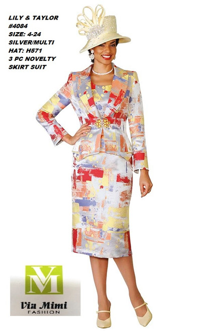 LILY & TAYLOR #4084__ 3 PC NOVELTI SUIT  COLOR: SILVER/MULTI (H571)  SIZE:4-24  FOR MORE IMFORMATION AND PRICE PLEASE GIVE US A CALL   WE BEAT  ALL PRICES !!!!  VIA MIMI FASHION  1333 S. SANTEE ST.  LA,CA.90015  TEL: (213)748-MIMI (6464)  FAX: (213)749-MIMI (6464)  E-Mail: mimi@viamimifashion.com  http://viamimifashion.com  https://www.facebook.com/viamimifashion    https://www.instagram.com/viamimifashion  https://twitter.com/viamimifashion