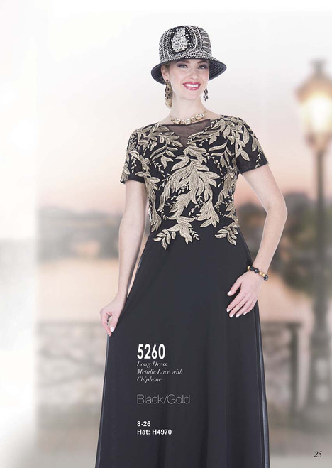 ELITE #5260_ ONE PC LONG DRESS  COLOR:BLACK/GOLD  SIZE: 8-26  HAT: H4970   FOR MORE IMFORMATION AND PRICE PLEASE GIVE US A CALL   WE BEAT  ALL PRICES !!!!  VIA MIMI FASHION  1333 S. SANTEE ST.  LA,CA.90015  TEL: (213)748-MIMI (6464)  FAX: (213)749-MIMI (6464)  E-Mail: mimi@viamimifashion.com  http://viamimifashion.com  https://www.facebook.com/viamimifashion    https://www.instagram.com/viamimifashion  https://twitter.com/viamimifashion