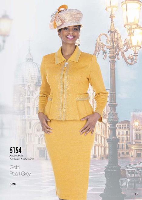 ELITE #5154_ 2 PC  KNIT SUIT  COLOR: GOLD, PEARL GREY  SIZE: 8-26  FOR MORE IMFORMATION AND PRICE PLEASE GIVE US A CALL   WE BEAT  ALL PRICES !!!!  VIA MIMI FASHION  1333 S. SANTEE ST.  LA,CA.90015  TEL: (213)748-MIMI (6464)  FAX: (213)749-MIMI (6464)  E-Mail: mimi@viamimifashion.com  http://viamimifashion.com  https://www.facebook.com/viamimifashion    https://www.instagram.com/viamimifashion  https://twitter.com/viamimifashion