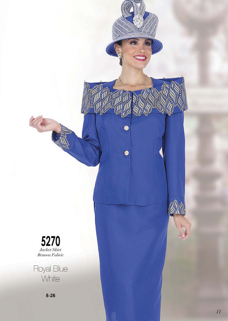 ELITE #5270_ 2 PC KNIT SET  COLOR: ROYAL BLU , WHITE  SIZE: 8-26  FOR MORE IMFORMATION AND PRICE PLEASE GIVE US A CALL   WE BEAT  ALL PRICES !!!!  VIA MIMI FASHION  1333 S. SANTEE ST.  LA,CA.90015  TEL: (213)748-MIMI (6464)  FAX: (213)749-MIMI (6464)  E-Mail: mimi@viamimifashion.com  http://viamimifashion.com  https://www.facebook.com/viamimifashion    https://www.instagram.com/viamimifashion  https://twitter.com/viamimifashion