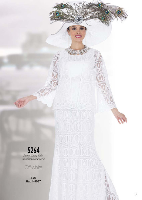 ELITE #5264_ 2 PC SET  COLOR: OFF-WHITE  SIZE: 8-26  HAT: H4967   FOR MORE IMFORMATION AND PRICE PLEASE GIVE US A CALL   WE BEAT  ALL PRICES !!!!  VIA MIMI FASHION  1333 S. SANTEE ST.  LA,CA.90015  TEL: (213)748-MIMI (6464)  FAX: (213)749-MIMI (6464)  E-Mail: mimi@viamimifashion.com  http://viamimifashion.com  https://www.facebook.com/viamimifashion    https://www.instagram.com/viamimifashion  https://twitter.com/viamimifashion