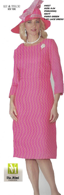 LILY TAYLOR STYLE #4027 /1 PC LACE DRESS !!  COLOR: PINK (H566) , NAVY, PARIS GREEN  SIZE: 6-24  FOR PRICE AND MORE IMFORMATION  PLEASE GIVE US A CALL   WE BEAT  ALL PRICES !!!!  VIA MIMI FASHION  1333 S. SANTEE ST.  LA,CA.90015  TEL: (213)748-MIMI (6464)  FAX: (213)749-MIMI (6464)  E-Mail: mimi@viamimifashion.com  http://viamimifashion.com  https://www.facebook.com/viamimifashion    https://www.instagram.com/viamimifashion  https://twitter.com/viamimifashion