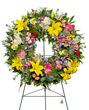 Warm Thoughts Wreath