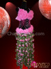 CHARISMATICO Belly Dancer Sexy Curve-accentuating flower Dance Dress