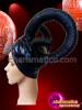 CHARISMATICO Aurved horned movie inspired drag diva's amazing horn headdress