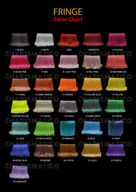 Fringe Color Chart
