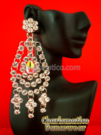 Drag Queen Swarovski Earrings