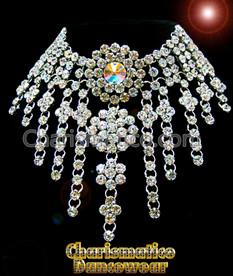 Circular Crystal Drag queen Swarovski Necklace