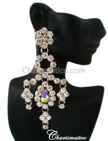 Glam Swarovski Earrings