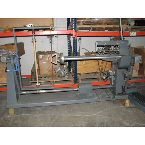 Utica Bias Collarette Cutter with roll attachment - Used