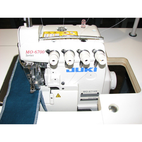 MO-6814S Serger 4-thread overlock (Setup complete with table, motor & stand)