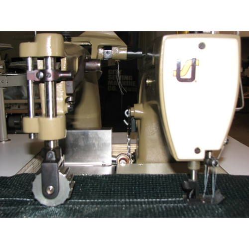 56500BL48 (Setup complete with table, motor & stand) Heavy Duty Banner Sewing Machine