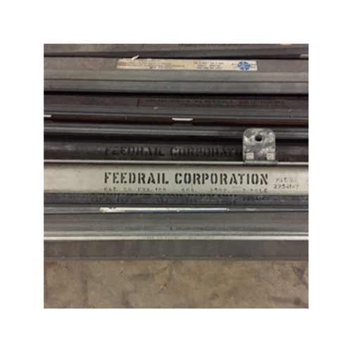 FeedRail - Trolley Busway FRS-100 60amp, 3 pole, 300 VAC/VDC, 10'