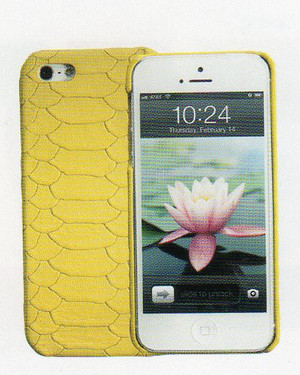 iPhone 5 Case in Python Chartruese