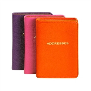 mini address books
