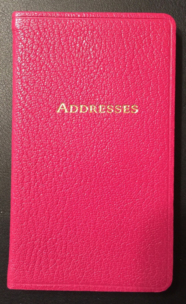 Small Address Book # 3 - email or call: info@scribesdelight.com ~ 1.800.866.7367  Save over 75% - 10.00