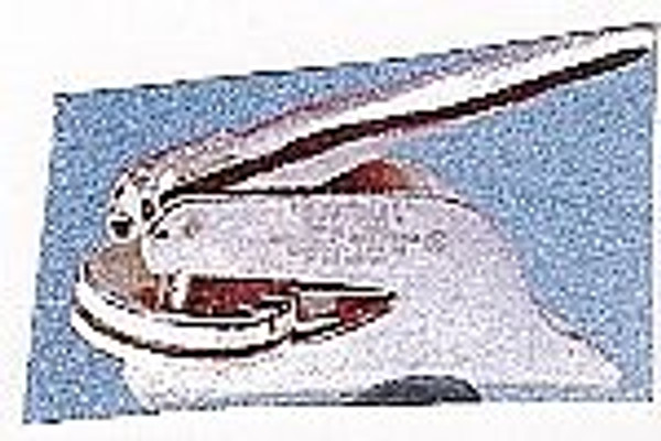 Embosser Insert - Classic Monogram Round