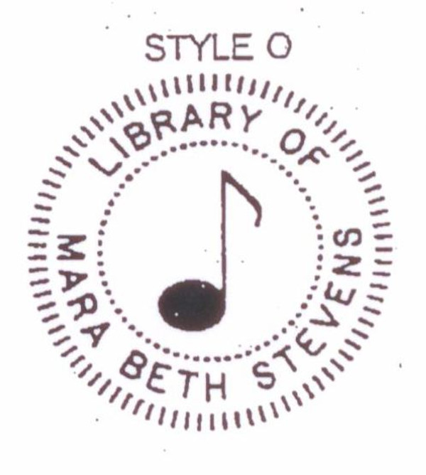 Library of - Musical Note