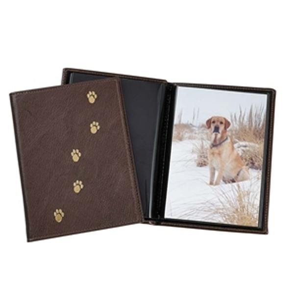 Pets Photo Album - Mocha with PawPrints