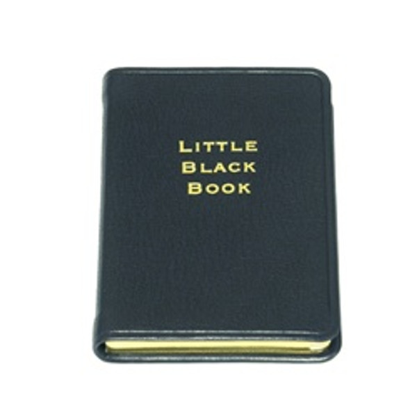 Little Black Book - Leather