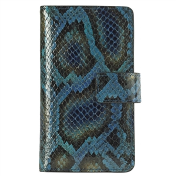 iPhone 6S / 6 Case Peacock Python Leather
