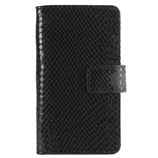 iPhone 6S / 6 Case Black Python Leather
