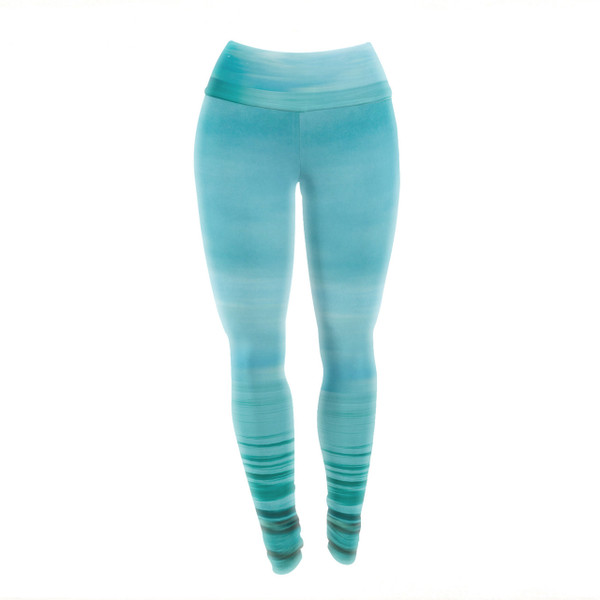 Be In The Sea Yoga Pants/Leggings  - you can almost feel the water all around you!